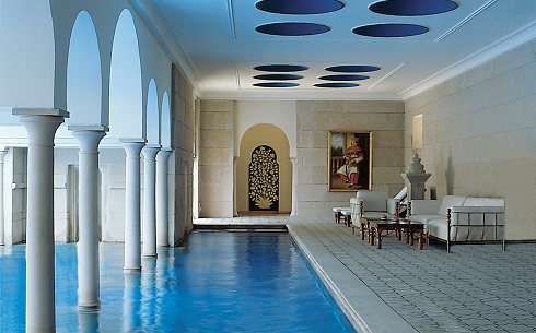 017-The Oberoi Amarvilas Agra - Swimming Pool 1
