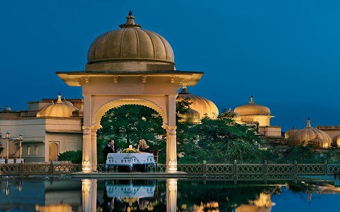 020-The Oberoi Udaivilas - Romantic Dinner