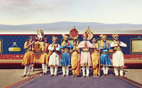 Deccan Odyssey Traditional Welcome