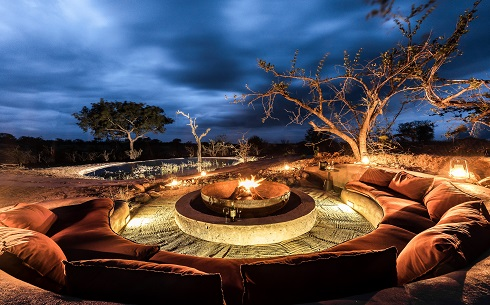 Earth Lodge Fire Pit