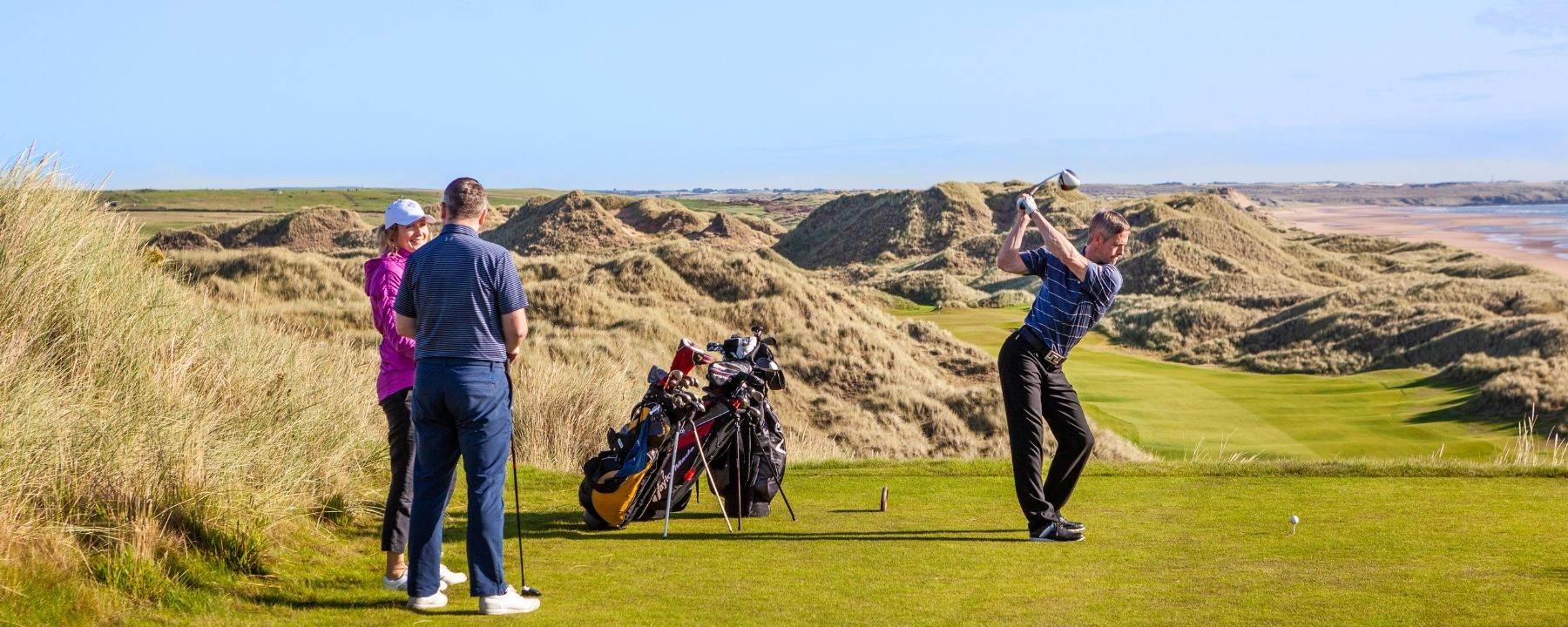 Exclusive Scottish Links Golf Tour